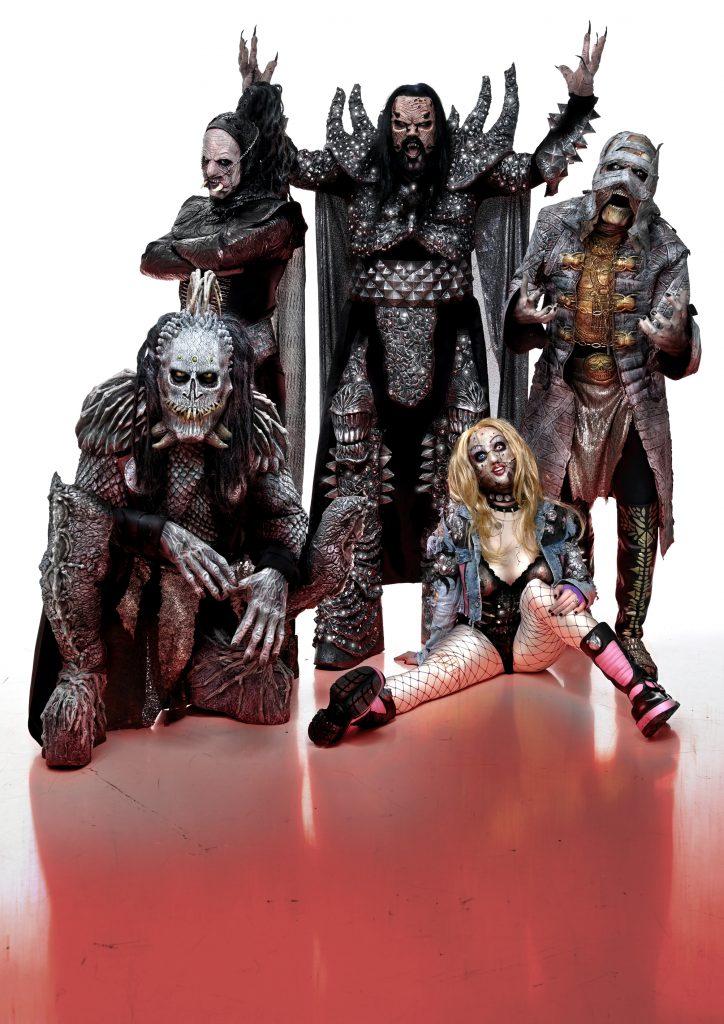 Heavy-Metal-/Hard-Rock-Band Lordi
