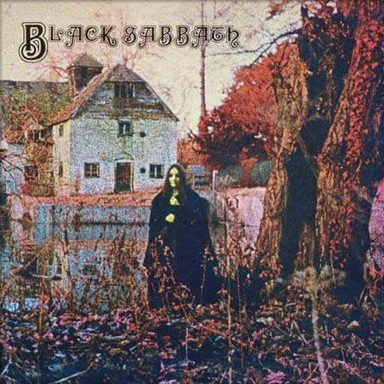 """Das Albumcover """"Black Sabbath"""" von Black Sabbath"""