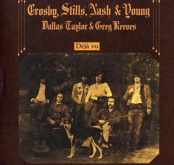 Crosby, Stills, Nash & Young mit Déjà Vu