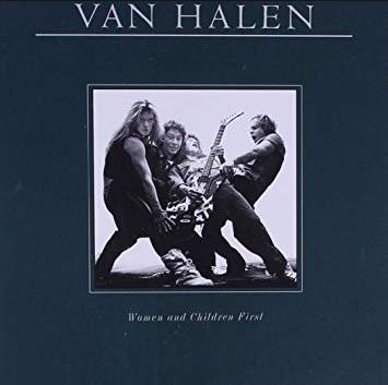"""Van Halen mit dem Album """"Women And Children First"""""""
