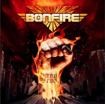 """Das Album """"Fistful Of Fire"""" von Bonfire"""