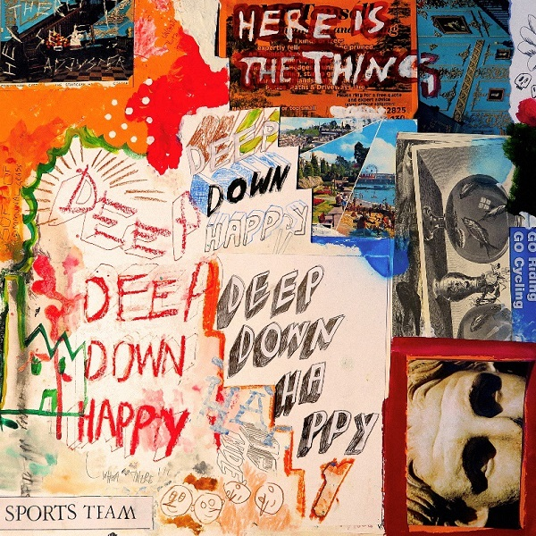 "Das Album ""Deep Down Happy"" von Sports Team"