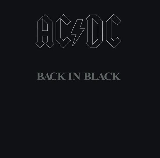 "Das Album ""Back in Black"" von AC/DC"