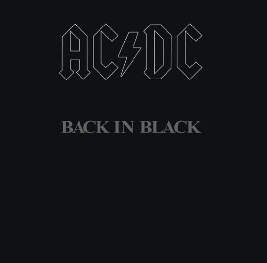 """Das Album """"Back in Black"""" von AC/DC"""