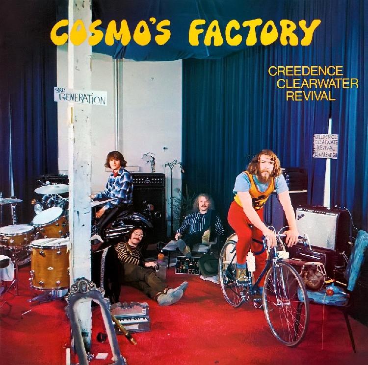 """Das Album """"Cosmo's Factory"""" von CCR"""