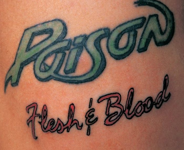 "Das Album ""Flesh & Blood"" von Poison"