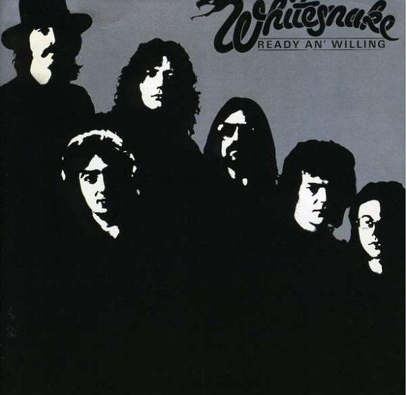 """Das Album """"Ready An' Willing"""" von Whitesnake"""
