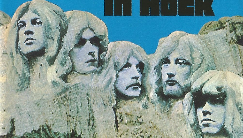 "Das Album ""In Rock"" von Deep Purple"