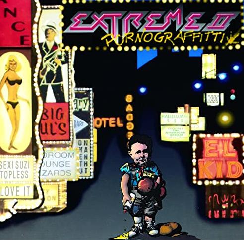 "Das Album ""Pornograffitti"" von Extreme"