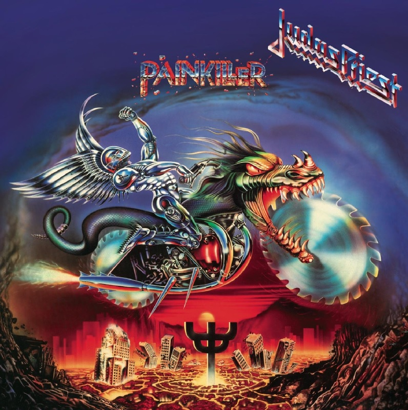 """Das Album """"Painkiller"""" von Judas Priest"""
