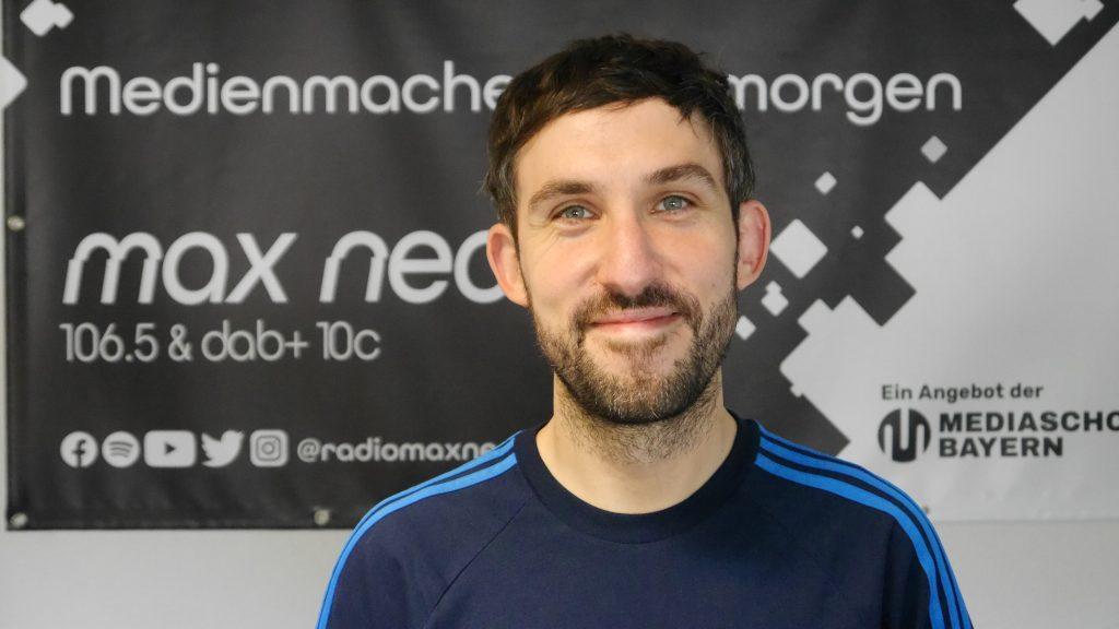 Konstantin Winkler ist seit September 2020 Programmleiter von max neo.