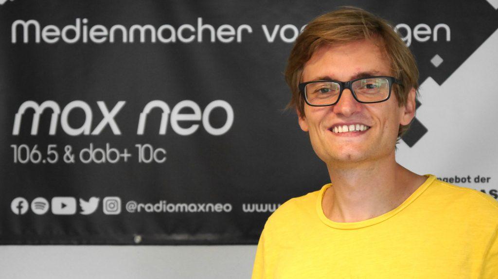 "Christian Klug gibt bei max neo Workshops zum Thema ""Sportreportage""."
