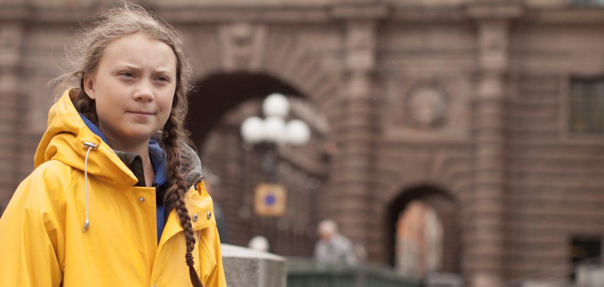 """Greta Thunberg hat die Klimabewegung """"Fridays for future"""" ins Leben gerufen."""