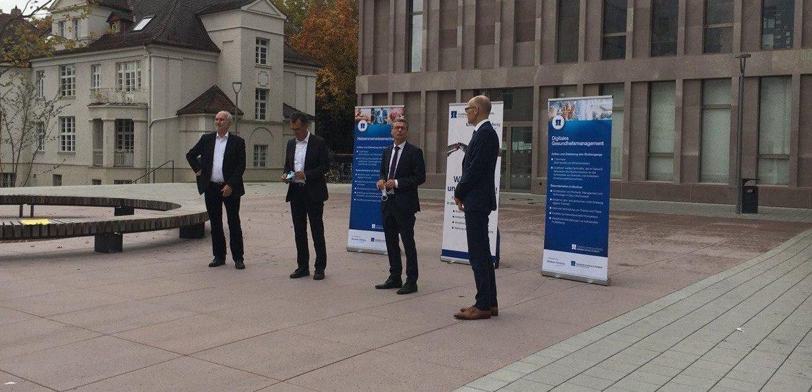 An der neu eröffneten Nürnberg School of Health werden zwei neue medizinische Studiengänge angeboten.