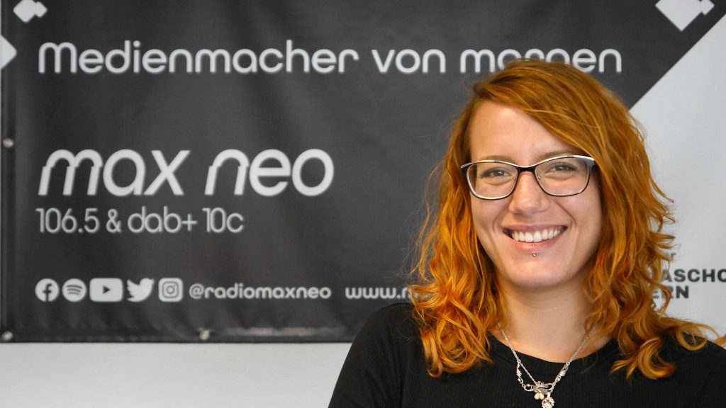 Tamara Hofmeister ist bei max neo Praktikantin.