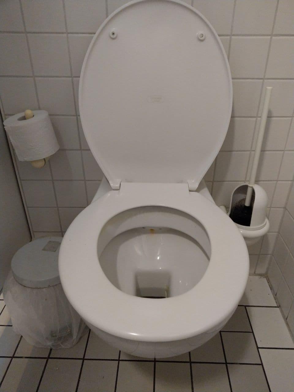 Das ist die Damentoilette bei max neo.