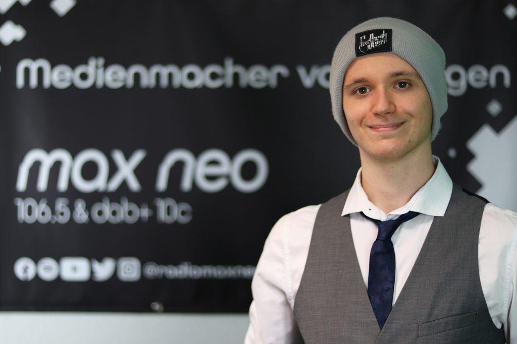 Philipp Lorenz ist bei max neo CvD am Mittwoch.
