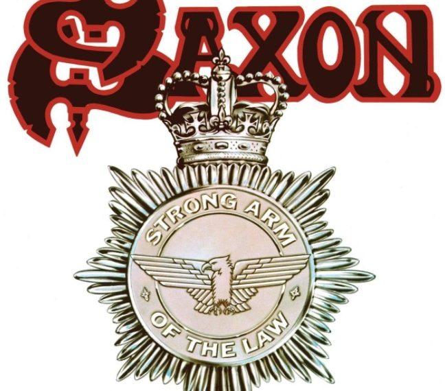 """""""Strong Arm Of The Law"""" ist das neue Album von Saxon."""