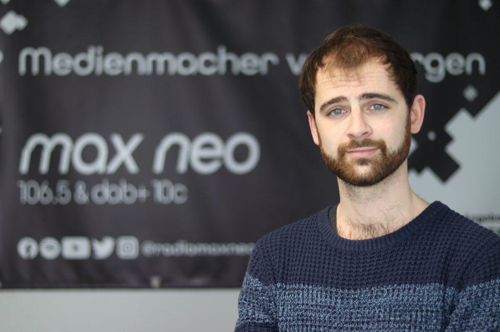 Christoph Ohlwärther ist bei max neo Chef vom Dienst am Donnerstag.
