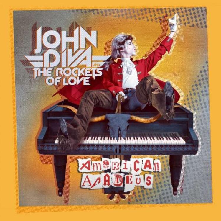 """""""American Amadeus"""" ist das dritte Album von John Diva & The Rockets Of Love."""