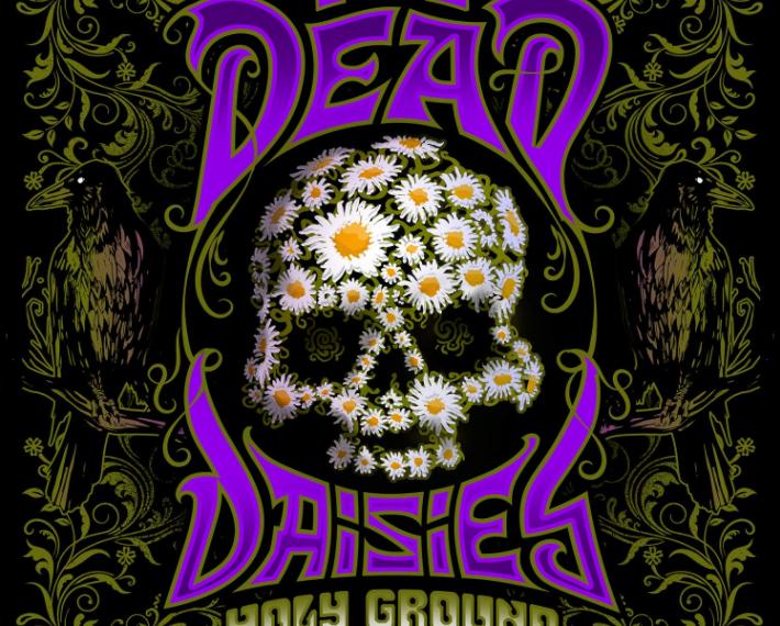 """Das ist das Albumcover von """"Holy Ground"""", dem neuen Album von The Dead Daisies."""