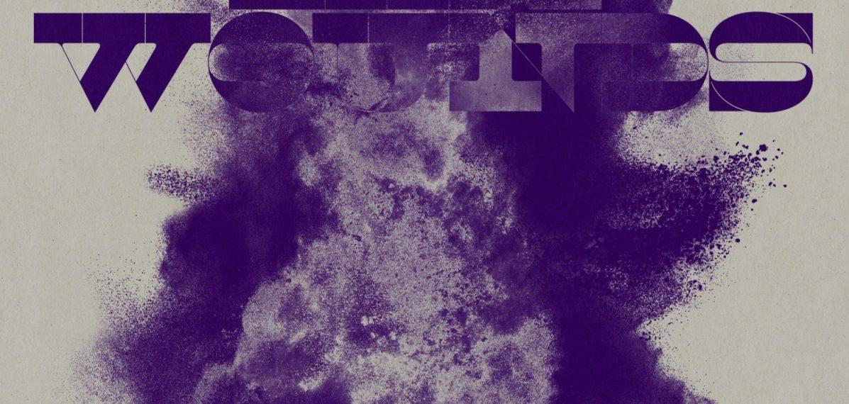 """das Albumcover """"Exit Wounds"""" von The Wallflowers hat einen hellen Hintergrund. Im Vordergrund ist eine violette Farbexplosion."""