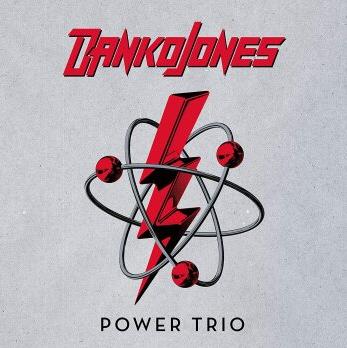 """Das ist das Albumcover von Danko Jones neuem Album """"Power Trio""""."""