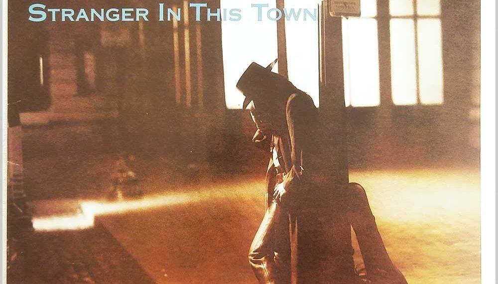 """Das Album-Cover von Richie Sambora's """"Stranger in this town"""""""
